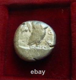 Athens, Athena Archaic Owl Silver tetradrachm BC. Athena & Owl