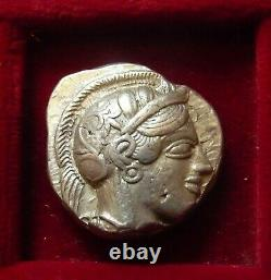 Athens, Athena Owl Silver tetradrachm 454-404 BC. Athena & Owl Full crest