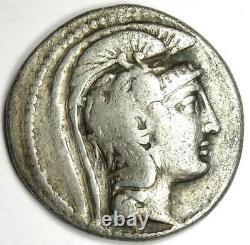 Athens Greece Athena Owl Tetradrachm Coin (125 BC, New Style) Good Fine / VF