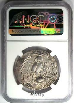 Athens Greece Athena Owl Tetradrachm Coin (144 BC, New Style) Certified NGC VF