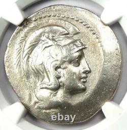 Athens Greece Athena Owl Tetradrachm Coin (148 BC, New Style) NGC Choice Fine