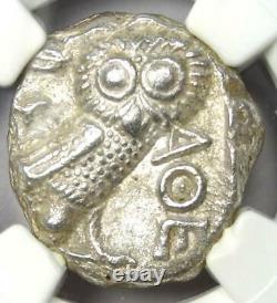 Athens Greece Athena Owl Tetradrachm Coin (393-294 BC) Certified NGC Choice AU