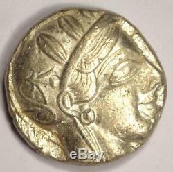 Athens Greece Athena Owl Tetradrachm Coin (454-404 BC) Choice VF Condition