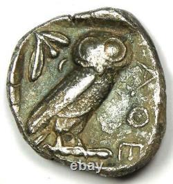 Athens Greece Athena Owl Tetradrachm Coin (454-404 BC) Good VF