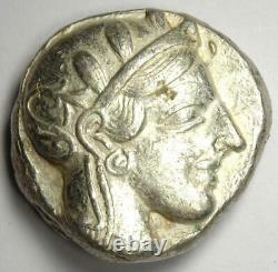 Athens Greece Athena Owl Tetradrachm Silver Coin (454-404 BC) Choice XF (EF)