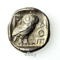 Attica, Athens Silver Tetradrachm 454-404BC