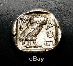 Attica, Athens. Superb Tetradrachm circa 454-404 BC. Ancient Greek Silver Coin