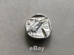 Attica, Athens, Tetradrachm, Athens, Silver, 454BC 404BC