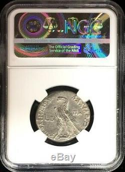 C. 109 Bc Ptolemaic Kingdom Cleopatra Ar Tetradrachm Ptolemy IX Ngc Choice Vf