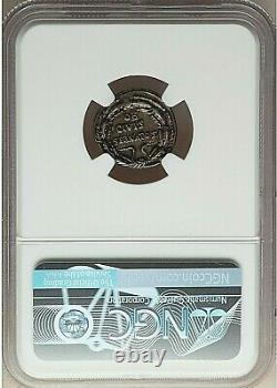 Ca 19-18 Bc Roman Augustus Silver Denarius (18mm, 3.68 Gm, 6h) Ngc Au 4/5-5/5