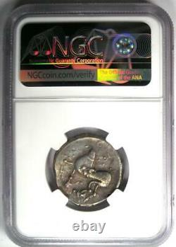 Celts Liegendem Achter AR Tetradrachm Silver Coin 200 BC Certified NGC XF (EF)