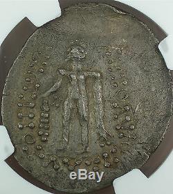 Celts, Lower Danube 2nd-1st Cent. BC, Silver Tetradrachm, NGC AU Ancient