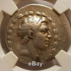 Demetrius I Seleucid Kingdom 162-150 BC AR Tetradrachm Silver NGC Choice Fine