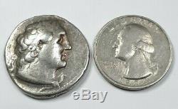 Egypt, Ptolemy II 285-246 Bc Silver Tetradrachm, Year 31