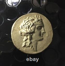 Genuine Ancient Greek Tetradachme-Thasos Island(Foure)102 bce/silver