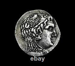 Greek Messembria Silver Tetradrachm, 125 125 Bc, Ngc Grade Vf