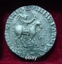 INDO-SKYTHIANS. Azes. Circa 58-12 BC. AR Tetradrachm, Zeus