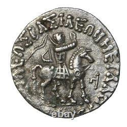 Indo-Scythians King Azes I/II Silver Tetradrachm Ancient Bible Coin Wise Men