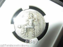 Kingdom Of Macedon Alexander III 336-323 Bc Silver Tetradrachm Heracles Zeus