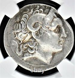 Kingdom Of Thrace, Lysimachus Ar Tetradrachm, Ngc Vf Fine Style