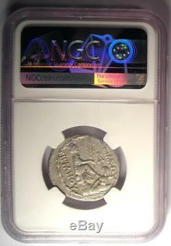 Kings of Armenia Tigranes II AR Tetradrachm Coin 95-56 BC Tyche NGC VF