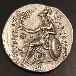 Kings of Thrace, Lysimachos AR Tetradrachm Good XF