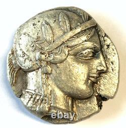 Lot 283 Attica, Athens AR Tetradrachm. Circa 454-404 BC. A