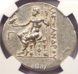 Lycia Phaselis Alexander the Great III AR Tetradrachm 218-185 BC NGC Choice VF