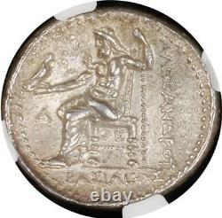 MACEDONIA Alexander III (336-323 BC). AR Tetradrachm NGC AU 5/5 3/5 011