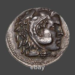 Macédoine Alexandre le Grand (336-323 Av. J. C.) Tétradrachme argent