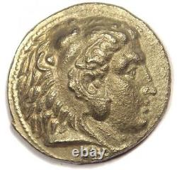 Macedon Philip III AR Tetradrachm Coin 323-317 BC Sharp XF Condition