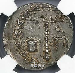 Macedon Under Rome, Alexander III c. 95-65 BC AR Tetradrachm NGC Choice XF