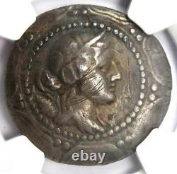 Macedon Under Rome First Meris AR Tetradrachm Silver Coin 167-148 BC NGC Fine