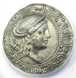 Macedon under Rome AR Tetradrachm Coin 158-150 BC ANACS XF45 (EF45)
