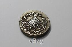 Mysia Pergamon Cistophoric Tetradrachm Serpent cista Silver Greek SHARP DETAILS