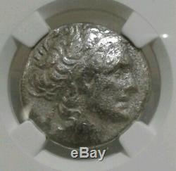 NGC authenticatec Ptolemaic Cleopatra Vll 51-30 bce bl Tetradrachm scarce type