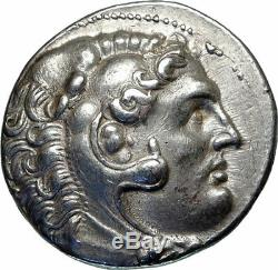 PERGAMON King ATTALUS I Silver Tetradrachm ALEXANDER the Great Greek Coin i85179