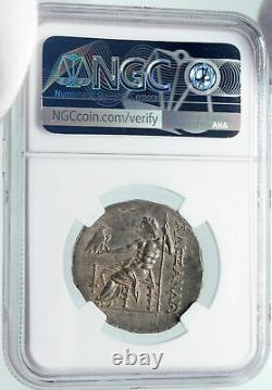 PHASELIS in LYCIA Ancient Silver Greek Tetradrachm Coin ALEXANDER III NGC i85683