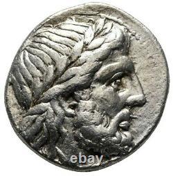 Philip II. Ancient Greek 359 BC. Superb Tetradrachm. KINGDOM MACEDON Silver Coin