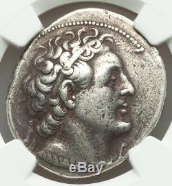 Ptolemaic Kingdom Ptolemy II 285/4-246 BC AR tetradrachma NGC VF 4/5 3/5