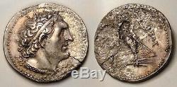 Ptolemy I Soter Tetradrachm 305-285 BC Silver Ancient Coin Egypt AR