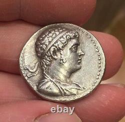 Ptolemy V Epiphanes Silver Tetradrachm Circa 202-200 BC