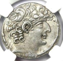 Roman Antioch Philip I Philadelphus AR Tetradrachm 47-13 BC Certified NGC XF