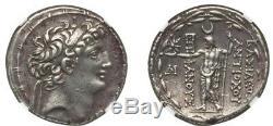 SELEUCID KINGDOM. Antiochus VIII Epiphanes-Grypus (121-113 BC). AR tetradrachm