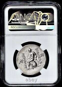 Seleucid Kingdom Antiochos III Antiochus The Great 175 BC AR Tetradrachm NGC XF