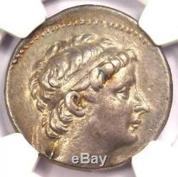 Seleucid Seleucus II AR Tetradrachm Coin 246-225 BC Certified NGC Choice VF