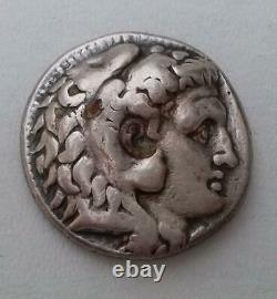 Seleukos The First Nikador AR Tetradrachm of Babylon 16.8g Circa 300 B. C