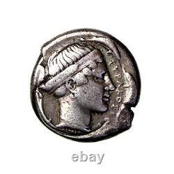 Sicily, Syracuse Silver Tetradrachm Biga / Arethousa 2nd Democracy 466-405BC