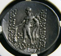 THRACE, Thasos tetradrachm Ancient Greek Coin NGC 5, s 4, s Toned