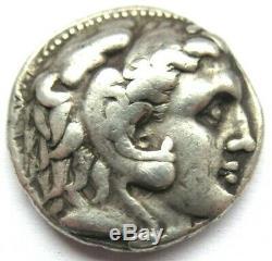 Tetradrachm of Seleukos I. (Nikator) Rv. Zeus enthroned left
